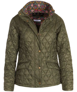 Women's Barbour Liberty Victoria Quilted Jacket - Olive