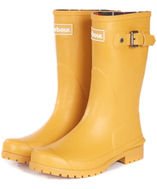 Women's Barbour Primrose Wellington Boots - Lunar Yellow