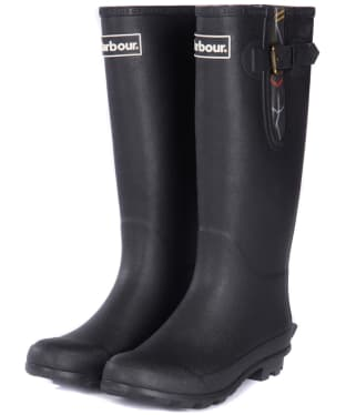 Women's Barbour Cleadon Wellington - Black