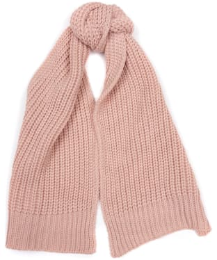 Women's Barbour Saltburn Scarf - Pink