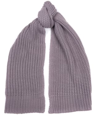 Women's Barbour Saltburn Scarf - Lilac