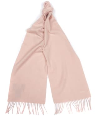 Women's Barbour Plain Cashmere Scarf - Pink