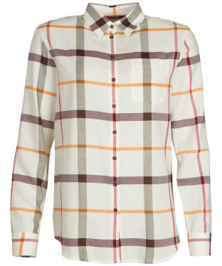 Women's Barbour Oxer Shirt - Cloud Check