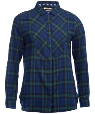 Women's Barbour Padstow Shirt - Navy / Kelp