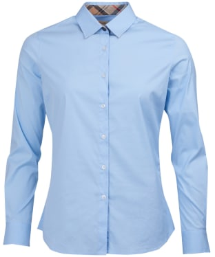 Women's Barbour Leith Shirt - Pale Blue