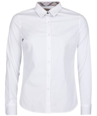 Women's Barbour Leith Shirt - White