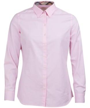 Women's Barbour Pendle Shirt - Pale Pink