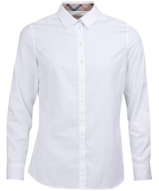 Women's Barbour Pendle Shirt - White