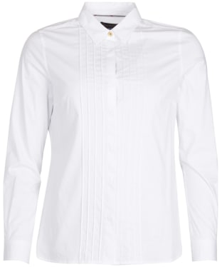 Women's Barbour Brodie Shirt - White