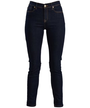 Women's Barbour International Hubcap Jeans - Rinse