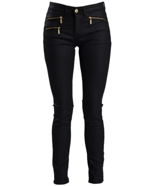 Women's Barbour International Aubern Jeans - Black