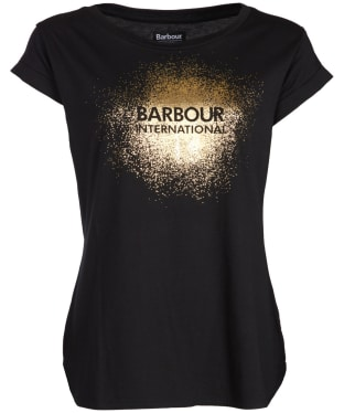 Women's Barbour International Turbo Tee - Black