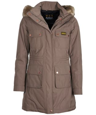Women's Barbour International Imatra Waterproof Jacket - Mink