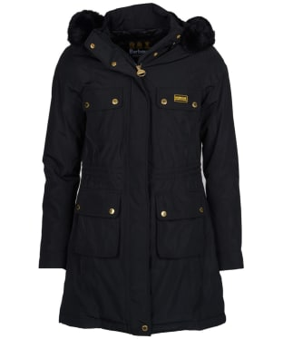 Women's Barbour International Imatra Waterproof Jacket - Black