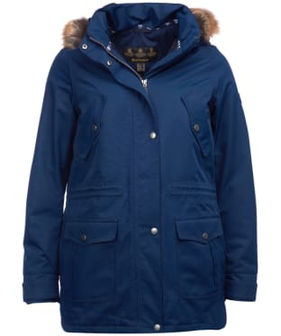 Women's Barbour Stronsay Waterproof Jacket - Navy