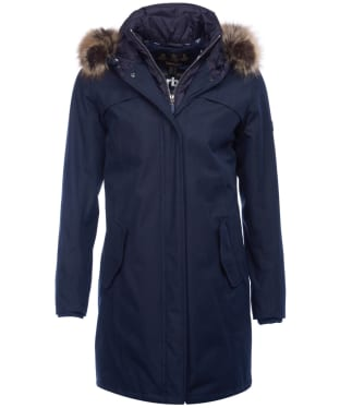 Women's Barbour Coldhurst Waterproof Jacket - Navy
