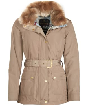 Women's Barbour Stromness Waterproof Jacket - Mink