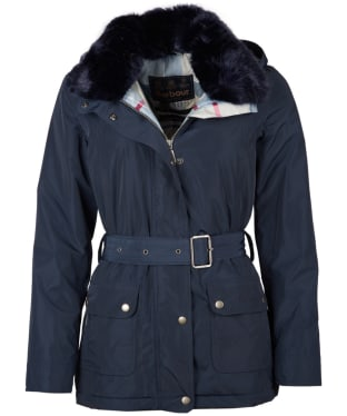 Women's Barbour Stromness Waterproof Jacket - Navy