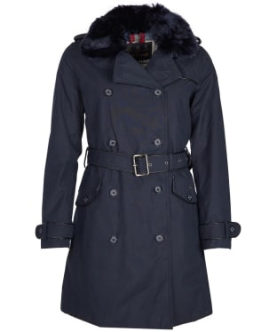 Women's Barbour Brodie Waterproof Jacket - Navy