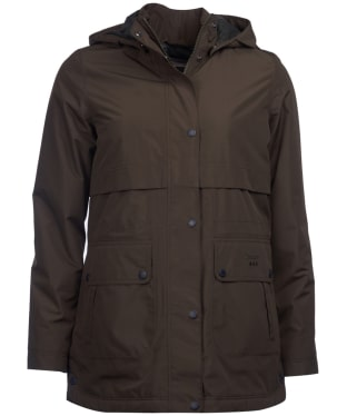 Women's Barbour Altair Waterproof Jacket - Olive