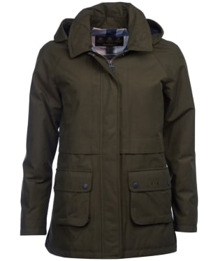 Women's Barbour Irisa Waterproof Jacket - Olive