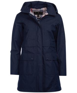 Women's Barbour Farron Waterproof Jacket - Navy