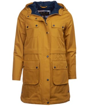 Women's Barbour Isobar Waterproof Jacket - Lunar Yellow