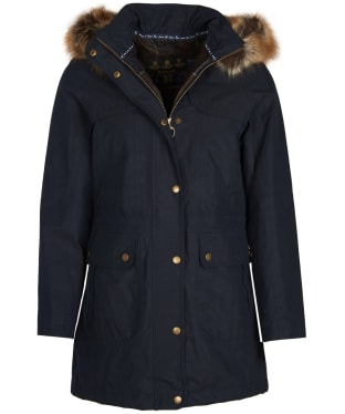 Women's Barbour Buttermere Waterproof Jacket - Navy