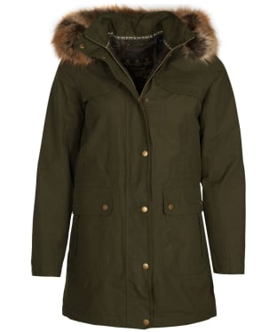 Women's Barbour Buttermere Waterproof Jacket - Olive
