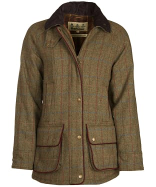 Women's Barbour Carter Wool Jacket - New Olive