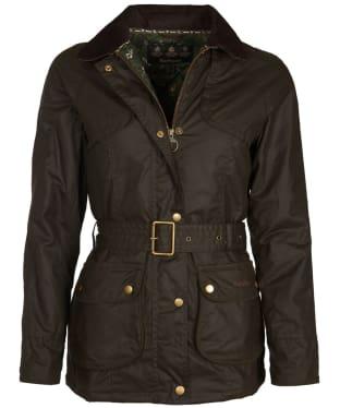 Women's Barbour Ambleside Wax Jacket - Olive