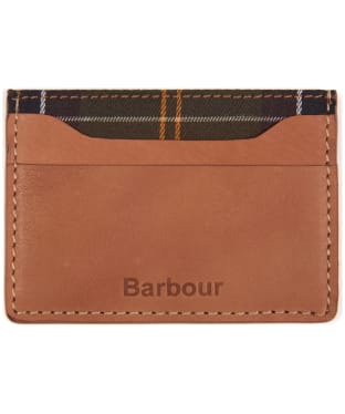 Men's Barbour Artisan Card Holder - Tan