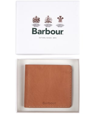 Men's Barbour Artisan Wallet - Tan