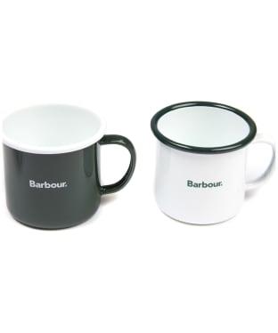 Men's Barbour Enamel Mug Giftset