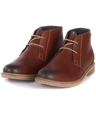 Men's Barbour Readhead Chukka Boots - New Chestnut