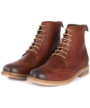 Men's Barbour Belsay Boots - Chestnut