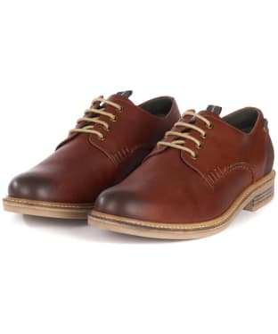 Men's Barbour Bramley Derby Shoes - Chestnut