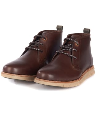 Men's Barbour Burghley Boots - Brown
