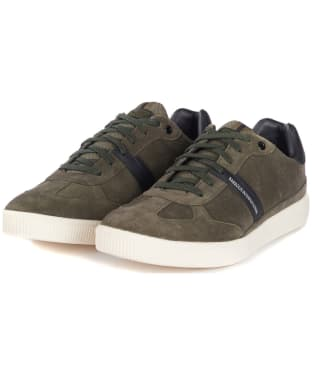Men's Barbour International Track Sneakers - Olive