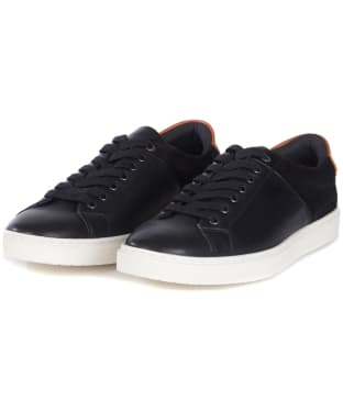 Men's Barbour Ariel Trainers - Black