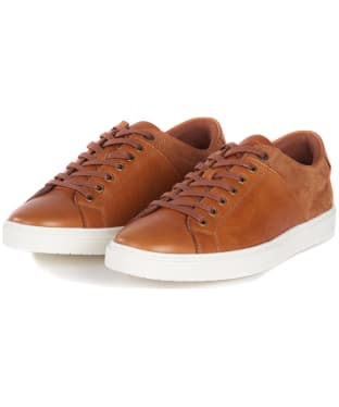 Men's Barbour Ariel Trainers - Cognac