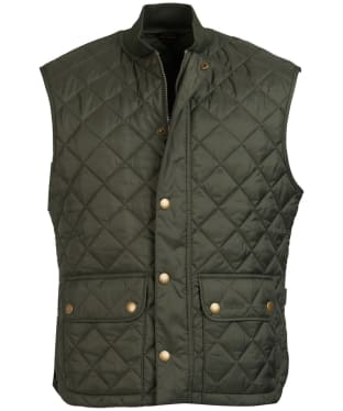 Men's Barbour x Sam Heughan Oakwell Gilet - Forest