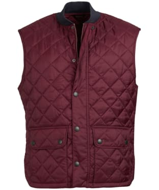 Men's Barbour x Sam Heughan Oakwell Gilet - Bordeaux