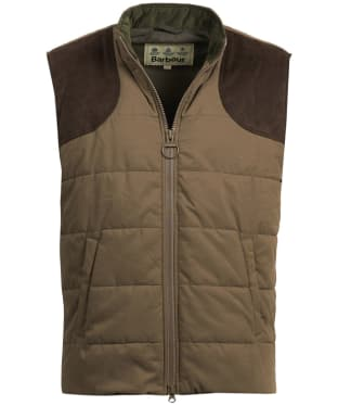 Men's Barbour Ludlow Gilet - Clay