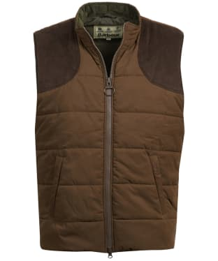 Men's Barbour Ludlow Gilet - Dark Sand