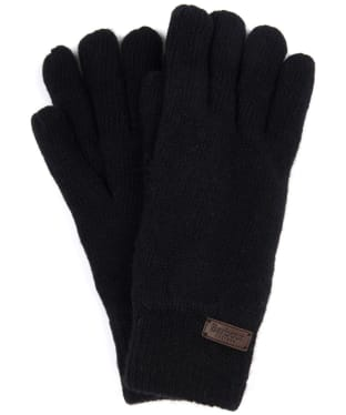 Men's Barbour Carlton Gloves - Black