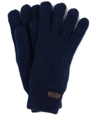 Men's Barbour Carlton Gloves - Navy