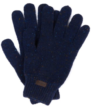 Men's Barbour Donegal Gloves - Navy