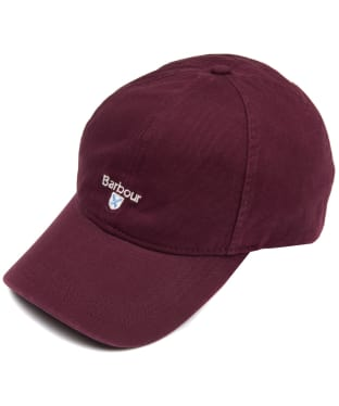Men s Barbour Cascade Sports Cap - Merlot 626bd82df3ab