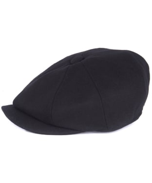 Men's Barbour Redshore Flat Cap - Black